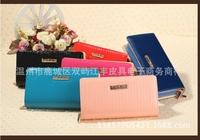 2014 New Hot Sale Wallet Women's Wallet  Leather Wallet Fashion Women- Free Shipping BAOX
