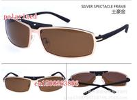 Super light frog mirror men's brand drivers polarized sunglasses 009 free shipping