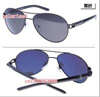 The new fine coating men's designer metal brand polarized sunglasses MB208