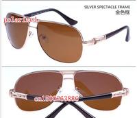 Avant-garde elegant personality premium men's polarized sunglasses 13014