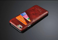 Unique Design pu Leather Back Case For iPhone 6 (4.7 inch), with card holer, 30pcs/lot by DHL