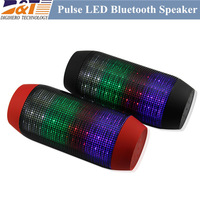 Free shipping  PULSE JB2 Colorful 360 LED lights degree surround Wireless Bluetooth Portable Speakers TF card and U-Disck