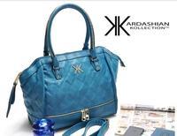 New fashion high quality handbags Kardashian kk plaid rivet shoulder bag handbag messenger bag women's handbag work bags SKY991