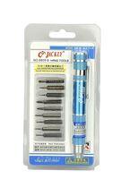 JK-8809B 10 In 1 Precision Magnetic Pocket Pen Style Screwdriver Tool Bit Set