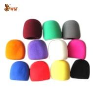 11x Multicolor Microphone Windscreen Foam Grill Cover Sponge Audio KTV Universal