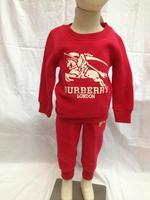 2014  New  Retail  Brand  fashion  spring/autumn  children's  suit  long sleeve  letter  pattern  O-Neck  unisex's  suit