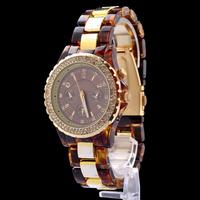 2014 hot ! New Fashion Diamond ceramic Dial Decoration Womens/Ladies MK11 Dress Brand Watch, ePacket Free Shipping
