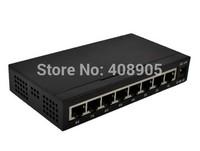 Hot selling! 8 Port 10/100/1000M Base Gigabit Ethernet Network Switchs high performance Smart Gigabit Switch 8 Port EU/US plug