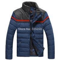 Winter Coat Men Duck Down Casual Stand Collar Jacket Warm Fashion Male Overcoat Parka Outwear Coat