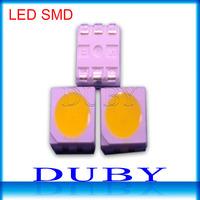 1000pcs/lot SMD 5050 LED Chips Warm White/White LED 5050 Lamp Beads LED 5050 Diodes 10-12lm for LED Light Lamp Lighting