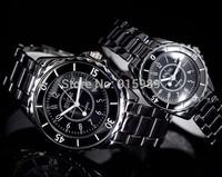 30pcs/lot hot sale cheap ceramic sinobi couple watches men women fashion luxury watch brand lovers' watch