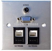 rj45/VGA muti wall socket panel