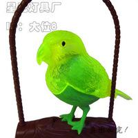 Without a sound control luminous bird bird frame wholesale simulation will call the bird / creative flash mixed batch
