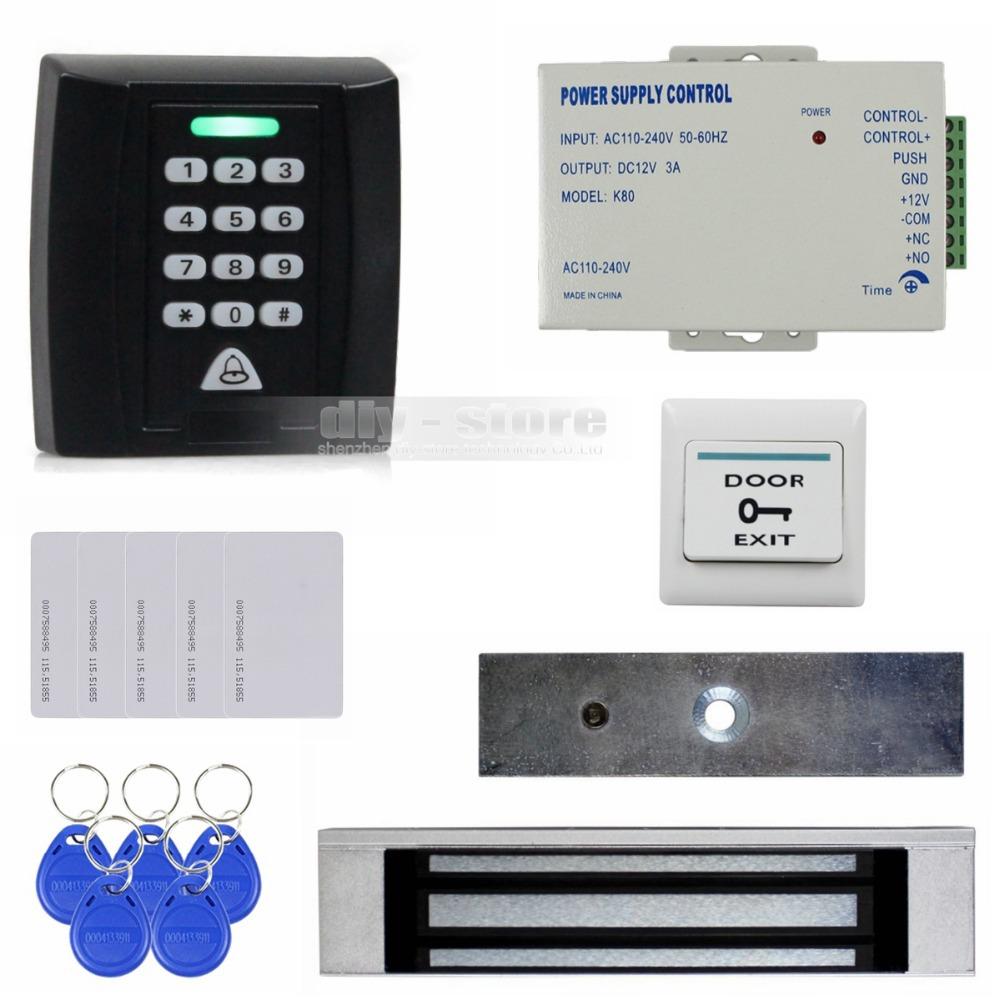 Система контроля доступа DIY Button180kg 125 RFID ID KS158 система контроля доступа n a diy rfid k2000