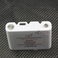 DJI Phantom Vision+ Remote battery (for 4 pcs number 5 batteries) universal rechargeable lithium batteries