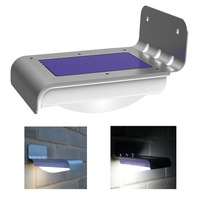 New Generration fresh 16 LED  Solar Powered Motion Sensor Light (Weatherproof, no batteries required) Outdoor Lamp Free Shipping