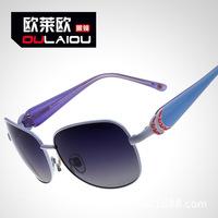 Mcenroe M3301 female polarizer 2014 personality fashion double color polarizing sunglasses could