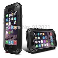 New Aluminum Metal Cases Gorilla Glass  Shock/Water Proof For iphone 6 plus