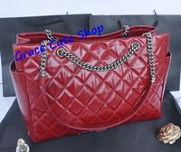 Lady Shoulder Bag Famous Brand CO Handbag Logo Printed Burnished Leather Top Quality Original Package (Dust Bag,Card)#CO-92525