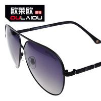 Genuine Mcenroe 2014 double color polarizer M3116 men and women shall double beam hollow metal sunglasses sunglasses