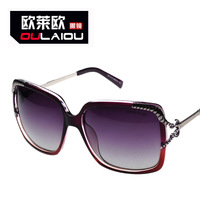 Mcenroe Sunglasses woman 2014 new listing retro graded polarizing prism big frame sunglasses