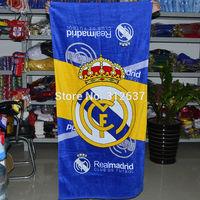 2015 real madrid 20 teams you can choose  football towel home decoration soccer Souvenirs 100% Cotton bathrobe
