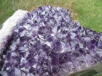 only one!!!!       49100g(108.02 lb) natural Amethyst Geode Quartz Crystal Cluster Brazil TCCA010