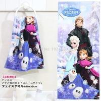 Newest Frozen Towels Baby Bath Towel 25pcs/lot Free DHL Shipping Frozen Elsa And Anna Princess Towels Beach Towels Fast Shipment