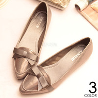 New 2014 Pointed Toe Shoes Fashion Solid Cotton Cloth Bowtie Women Flats Brand Designer Ballet Flats for Women Free Shipping