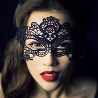 New Party Mask Halloween Masquerade Women Sexy Lady Lace Masks Half Face Mask Wholesale 5pcs /lot Free Shipping