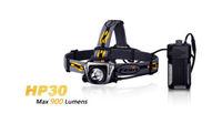 Fenix HP30 Grey 900 Lumen CREE XM-L2 LED Headlamp Headlight with USB output
