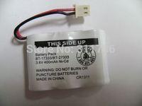 Cordless Phone 3.6V 400mAh Ni-Cd Rechargeable Battery Replaceable Batteries Vtech BT-17333 / BT-27333