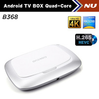 NEW B368 RK3288 Android TV BOX Quad Core 1.8GHz 2G/16G H.265 XBMC HDMI FHD 4K*2K WiFi RJ45 SPDIF Android 4.4 RK3288 Smart TV