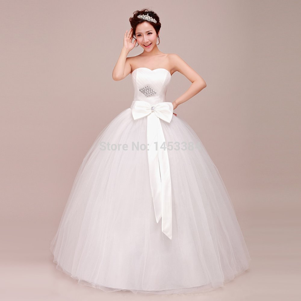 Wedding Dresses For Thin Brides : New lace diamond thin bride wedding dress country