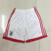Free shipping 2014 football short sport men's soccer shorts white Benfica shorts S M L XL