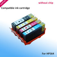 4 x ink cartridge inkjet cartridge for HP564 hp 564  for hp Photosmart 5510/5520/6510/6520/7510/7520 3070A B110a 3520 4620 5514