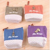 Japan   Korean creative cute retro square coin purse bag 4 design free shipping