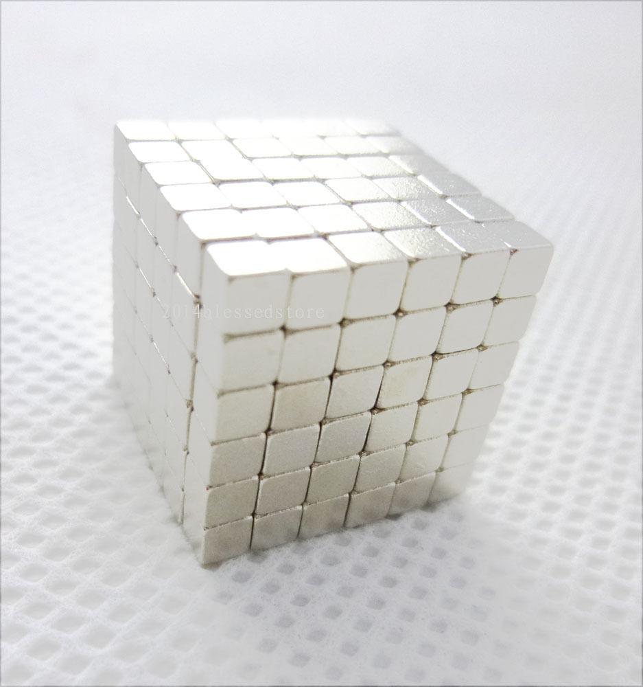 3mm Cubes Geometric Model Neodymium Spheres Silver(China (Mainland))