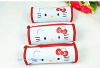 Hello Kitty Rolling Shape 21CM Pen Pencil BAG Pouch Case Pack Zipper MAKE UP CASE & Beauty Pouch Bag Case Coin Purse Wallet BAG