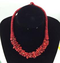 New beautiful national style charm stone necklace pendant fashion women's best gift  L-50(China (Mainland))