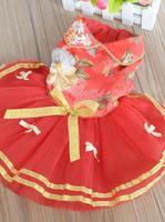 Factory direct wholesale pet supplies , pet dog wedding dress , princess wear, festive costume
