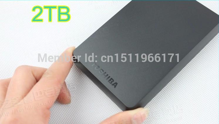 "Brand New hard disk USB3.0 hdd extern 2TB Mobile Hard Disk Drive Hard Drive 2.5"" Portable External Hard Drive 2TB HDD Free(China (Mainland))"