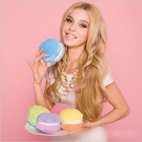 New arrive!!  Fashion Candy-colored macarons creative coin purse /cute  key ring 20 color for choose free shipping