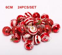 NEW Hot Selling Multicolour Christmas Ball Christmas Ball Plating Every  Decoration Ball Christmas Decoration Drop Shipping Xmas