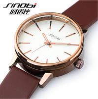 2014 new Wrist Watch for Couple Lovers Women Men Quartz Watch SINOBI Luxury Brand Waterproof Watch