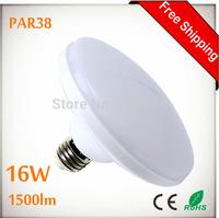 PAR38 16W 1500lm LED Spots Bulbs Light E27 AC85-265V 16W UFO LED PAR38 Spot Light Bulb Lamp