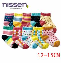 12pairs/lot Kids Socks Baby New Born Boy Girl Casual Winter Meias Infantil Baby Slippers,Anti Slip Socks Floor Children Socks(China (Mainland))