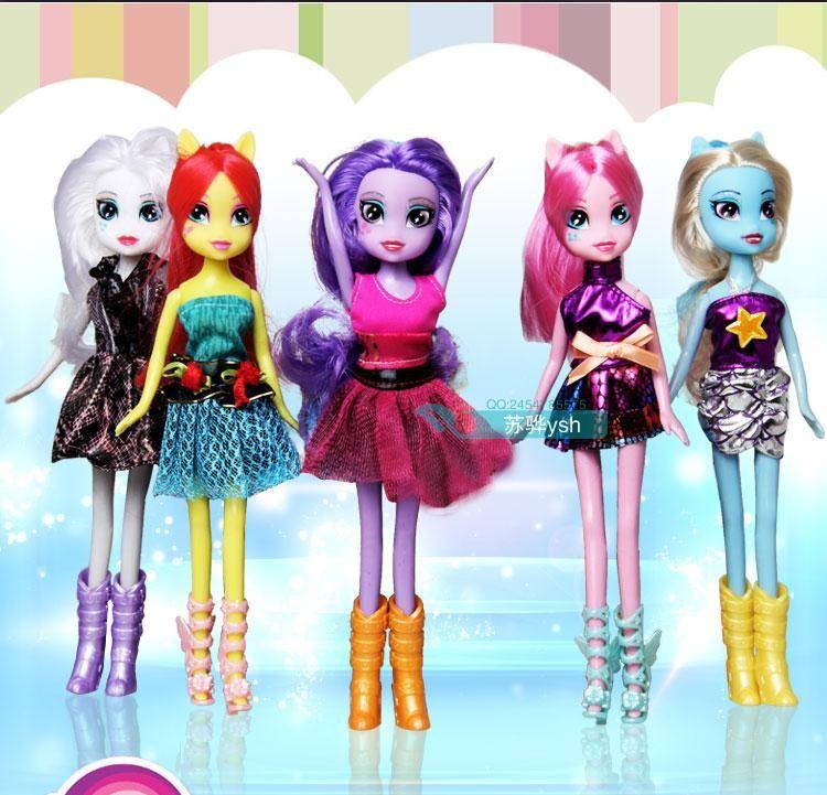 Equestria Girls Princess Celestia Doll Equestria Girls Doll 5pcs