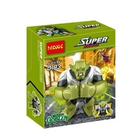 Decool 0183 Building Blocks Super Heroes Avengers Action figures Minifigures 7cm Big Green Goblin Figures Compatible With Lego