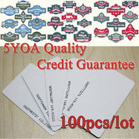 5YOA Quality Assurance EM ID CARD 4100/4102 reaction ID card 125KHZ RFID Card fit for Access Control Time Attendance